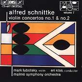 Schnittke: Violin Concertos no 1 & 2 / Lubotsky, Klas