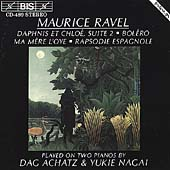 Ravel: Music for Two Pianos / Dag Achatz, Yukie Nagai