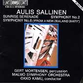 Sallinen: Symphonies no 2 & 6, etc / Kamu, Malmoe SO