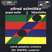 Schnittke: Gogol Suite, Labyrinths / Lev Markiz, Malmoe Sym