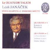 Smetana: String Quartets, Polkas / Talich Quartet, Kvapil
