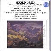 Grieg: Piano Concerto, Elegaic Melodies / Bratlie, Jansons