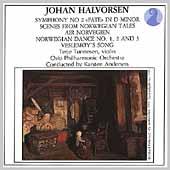 Halvorsen: Symphony no 2, etc / Andersen, Oslo PO