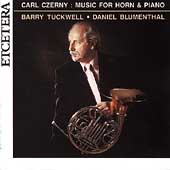 Czerny: Music for Horn and Piano / Tuckwell, Blumenthal