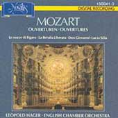 Mozart: Overtures / English Chamber Orchestra, Hager