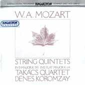 Mozart: String Quintets K 593 & K 614 / Koromzay, Takacs Qt