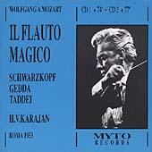 Mozart: Il Flauto Magico / Karajan, Schwarzkopf, Gedda