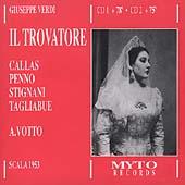 Verdi: Il Trovatore / Gui, Callas, Penno, Tagliabue