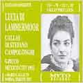 Donizetti: Lucia di Lammermoor / Picco, Callas, di Stefano