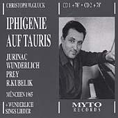 Gluck: Iphigenie in Tauride / Kubelik, Jurinac, Wunderlich