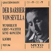 Rossini: Der Barbier von Sevilla / Boehm, Prey, Wunderlich
