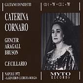 Donizetti: Caterina Cornaro / Cillario, Gencer, Aragall