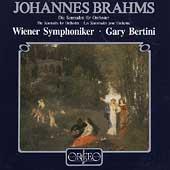 Brahms: Serenades no 1 & 2 / Bertini, Vienna Symphony
