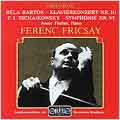 Bartok;  Tchaikovsky: Symphony no 6 / Fricsay, Bavarian RSO
