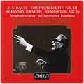Bach;  Brahms: Symphony no 4 / Klemperer, Bavarian RSO
