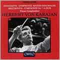 Hindemith: Symphonie Mathis der Maler;  Beethoven / Karajan