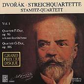 Dvorak: Streichquartette Vol 1 / Stamitz-Quartett