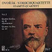 Dvorak: Streichquartette Vol 2 / Stamitz Quartett