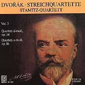Dvorak: Streichquartette Vol 3 / Stamitz Quartett