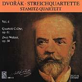 Dvorak: Streichquartette Vol 4 / Stamitz Quartett