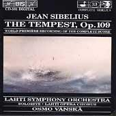 Sibelius: The Tempest (Complete) / Vanska, Lahti SO