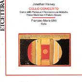 Harvey: Cello Concerto / Frances-Marie Uitti