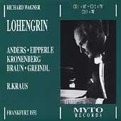 Wagner: Lohengrin / R. Kraus, Anders, Eipperle, Kronenberg