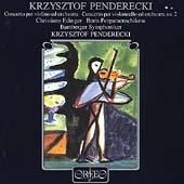Penderecki: Concerto per violino, etc / Edinger, Penderecki