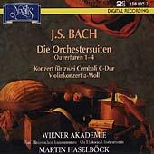 Bach: Die Orchestersuiten, etc / Haselboeck, Wiener Akademie