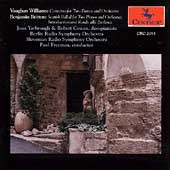 Vaughan Williams, Britten: Works for 2 Pianos / Freeman
