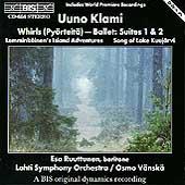 Klami: Whirls Suites 1 & 2, etc / Vaenskae, Lahti SO