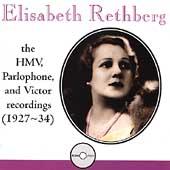 Elisabeth Rethberg - Complete HMV, Parlophone & Victor