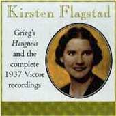 Kirsten Flagstad - Complete 1937 Victor Recordings;  Grieg