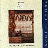 Verdi: Aida / Sabajno, Giannini, Pertile, La Scala