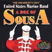 """アメリカ海兵隊バンド/A Box of Sousa / """"The President's Own"""" U.S. Marine Band [ALT5571]"""