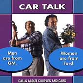 Men Are From GM, Women Are From Ford...