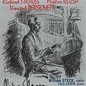 Strauss, Rozsa, Perischetti / William Steck, Cary Lewis
