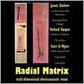 Radial Matrix -Multi-Dimensional Electroacoustic Music :J.Dashow/R.Karpen/S.A.Wyatt