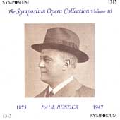 Symposium Opera Collection Vol 10 - Paul Bender