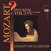 ?Mozart! Vol 3 - Octet, Sextet, etc / Consortium Classicum