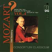 ?Mozart! Vol 4 - Sextets, Octet / Consortium Classicum