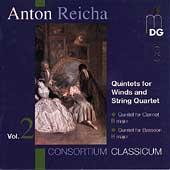 Reicha: Quintets for Winds & String Quartet Vol 2
