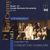 Il virtuoso Vol 1 - Czerny: Nonet, Grande Serenade / Tanski