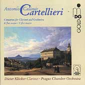 Cartellieri: Concertos for Clarinet and Orchestra / Kloecker