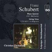 Schubert: Piano Quintet, String Trios /Lepzig String Quartet