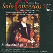 Bach: Complete Solo Concertos, Volume 5