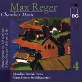 Reger: Chamber Music Vol 4 / Tanski, Mannheim Quartet