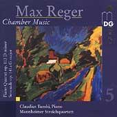 Reger: Chamber Music Vol 5 / Tanski, Manheimm Quartet