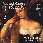 Bach: Complete Flute Sonatas, Volume 2