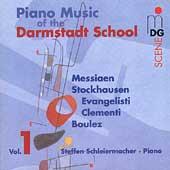 SCENE  Piano Music of the Darmstadt School / Schleiermacher